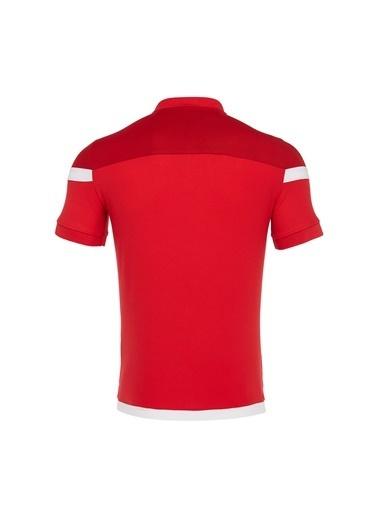 Macron Tişört Kırmızı